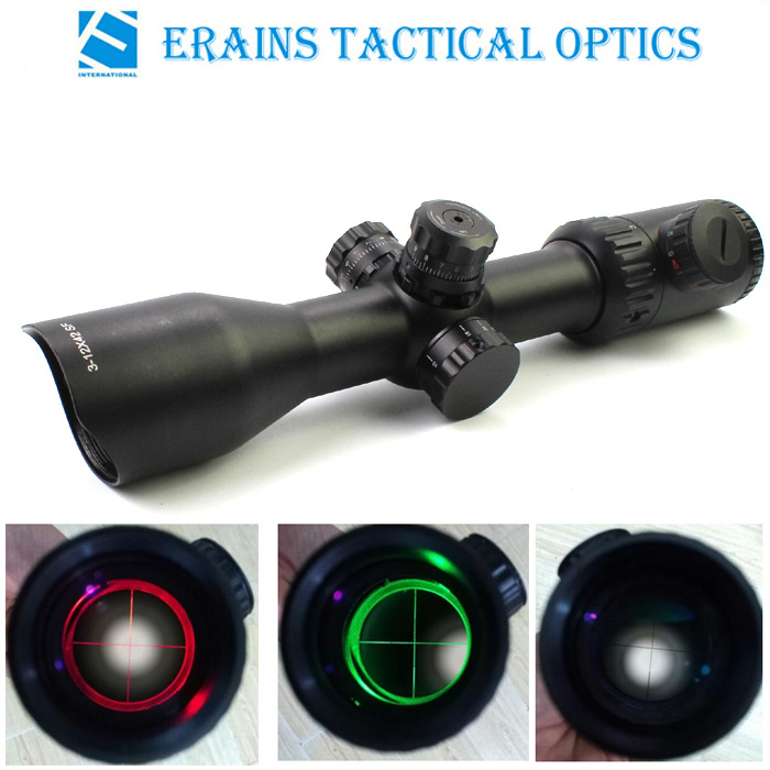 Ar15 Ak47 Same Caliber Weapon Live Tested Recoile Resistant Military Grade Tactical M3-12X42sf Rifle Scope
