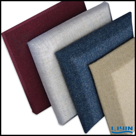Fabric Wrapped Acoustic Panel for Your Home Decoration