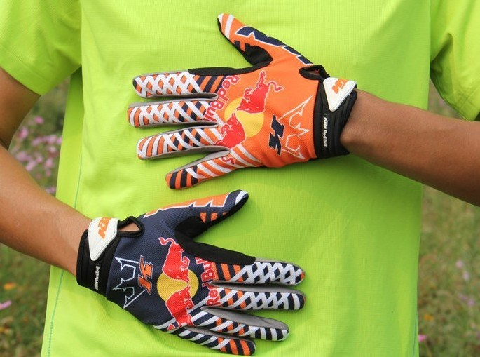 Anti-Skid Riding Gloves Motorcycle Gloves Racing off-Road Gloves