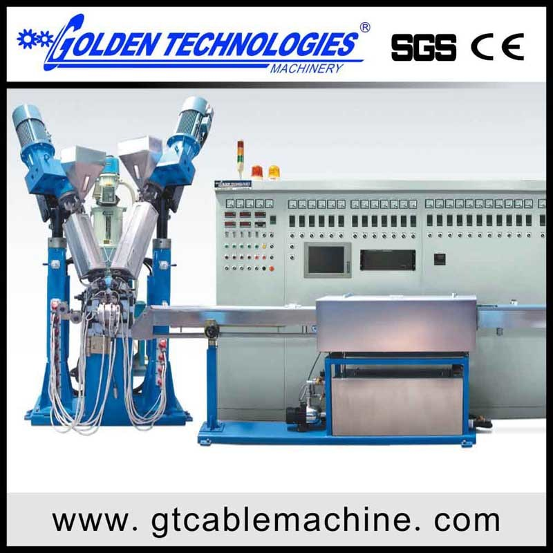 Physical Foam Electric Wire Cable Extrusion Equipment