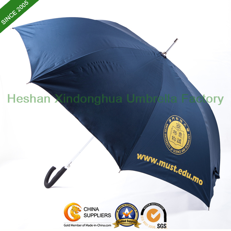 Printed Automatic Aluminium Golf Umbrellas with Fiberglass Ribs (GOL-0027AFA)