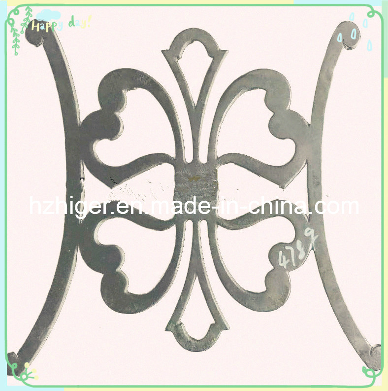 Sand Casting Chair Back Furniture Spare Parts