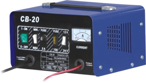 Fast Charge 12V Lead-Acid Car Battery Charger