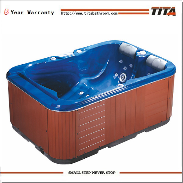 Two person hot tub