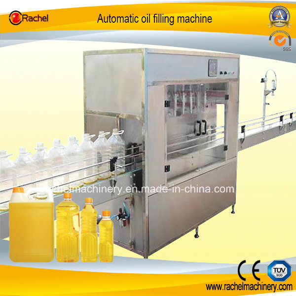 Automatic Olive Oil Liner Filler