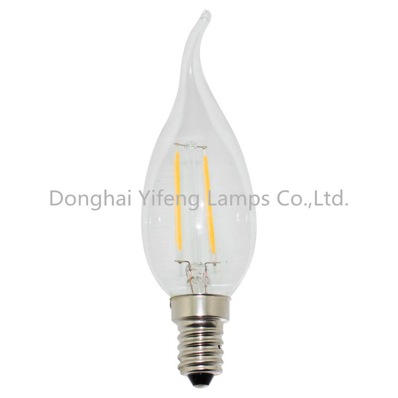 C35t LED Filament Lighting with EMC and Celvd Approved