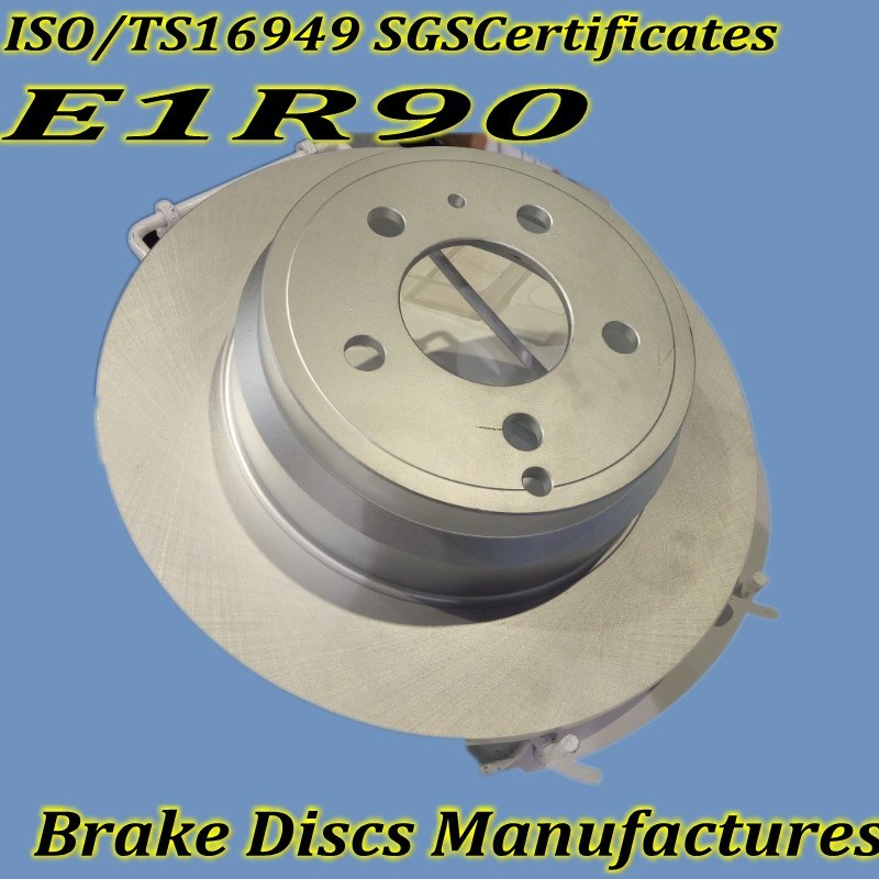 Ts16949 Approved Brake Discs for Cars