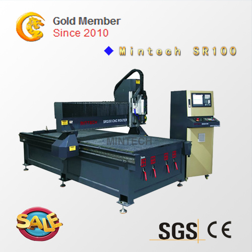 CNC Router with CE Approved for Agent Price (SR100)