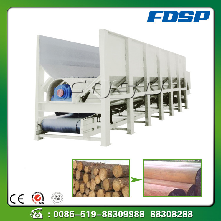 Single Roller Type Timber Tooth Wood/Sawdust Debarker