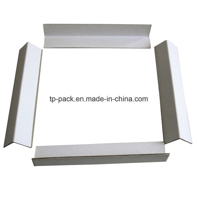 White Cardboard Carton Edge Protector