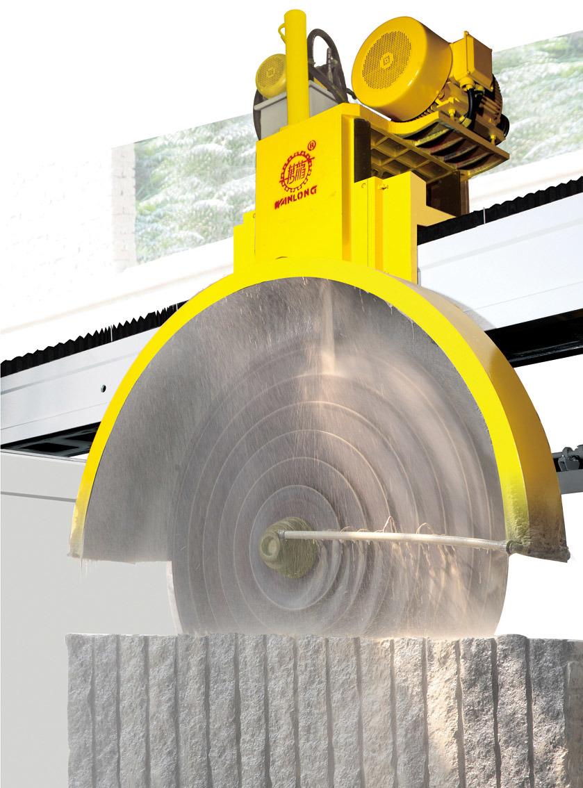 China Qsq 3000 Bridge Multiblade Cutter Block Cutting