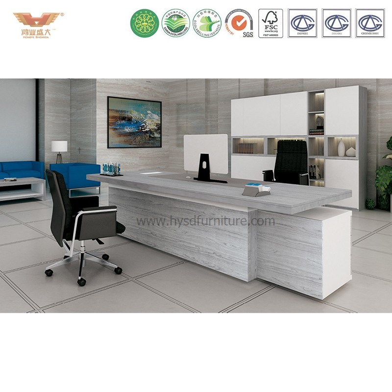Modern Office Furniture L Shape Executive Desk (JOINER ED26)