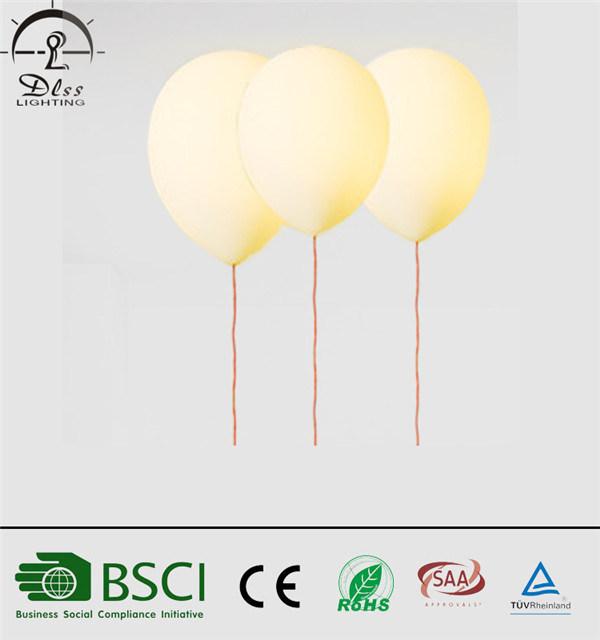 Modern LED Balloon Ceiling Lamp Kids Bedroom Decorative Lighting