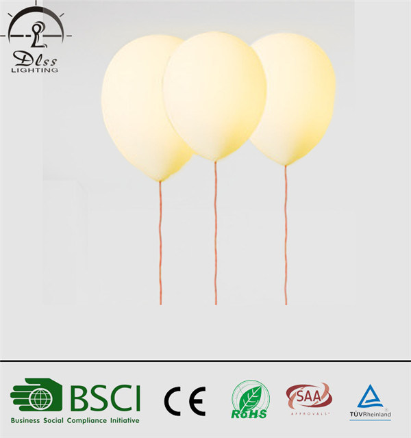 Modern LED Balloon Ceiling Lamp for Kids Bedroom Decorative Lighting