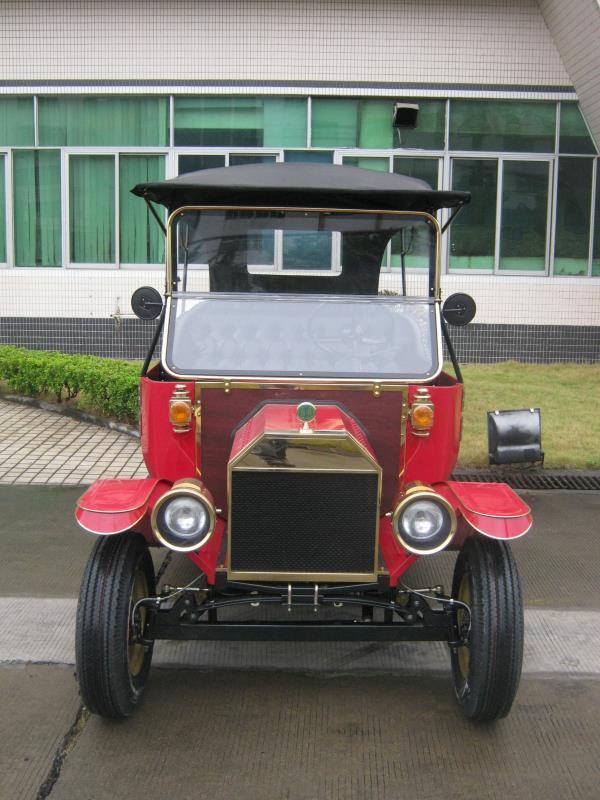 Top Quality AC Motor Pure Handmade Luxury Hotel Cart Electrical Retro Cars