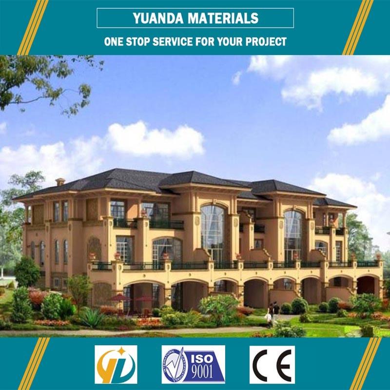 Small House Light Steel Structure Prefab Alc Panel Villas