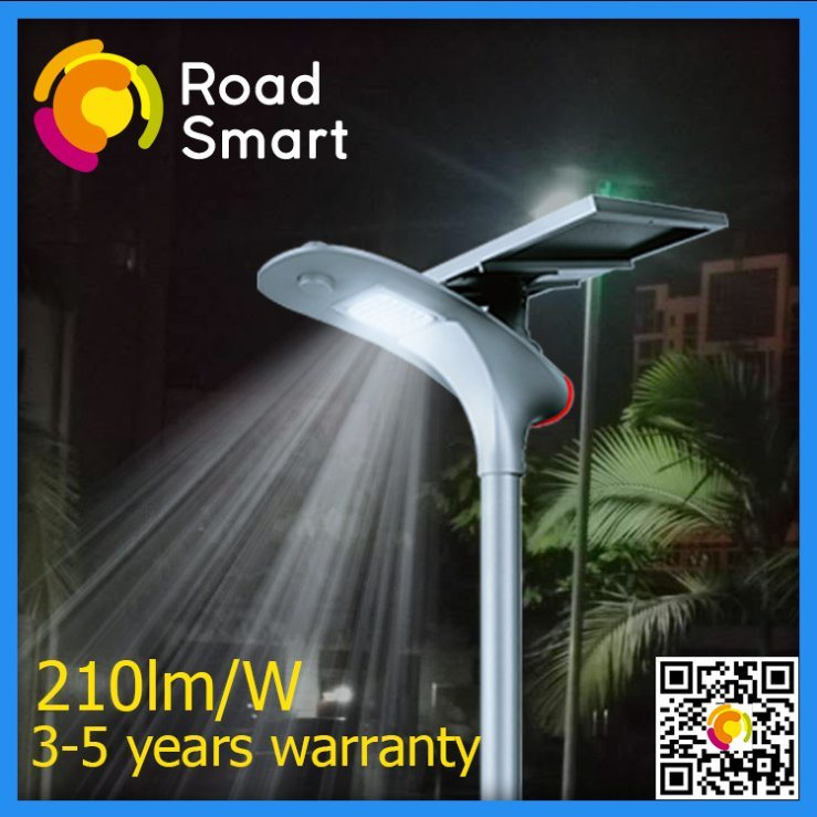 2017 Fashionable Solar Street Lamp with Microwave Motion Sensor