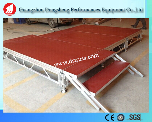 Aluminum Alloy Mobile Stage Activity Stage Assemble Stage2016 New Design Compact Customized Outdoor Stage