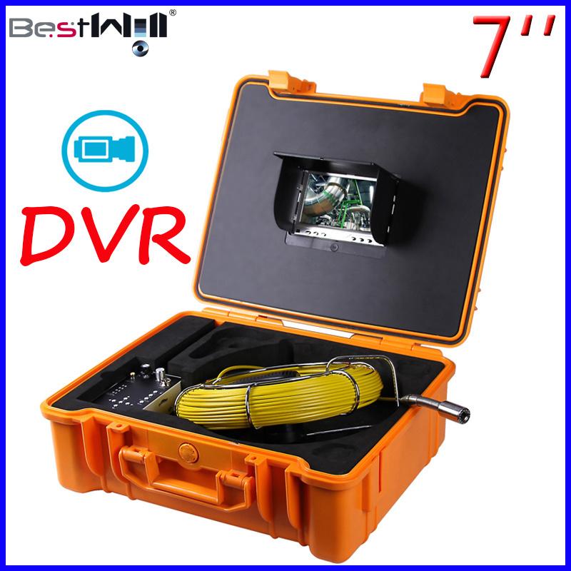 7′′ Digital Screen DVR Pipe/Sewer/Drain/Chimney Video Inspection Camera 7G
