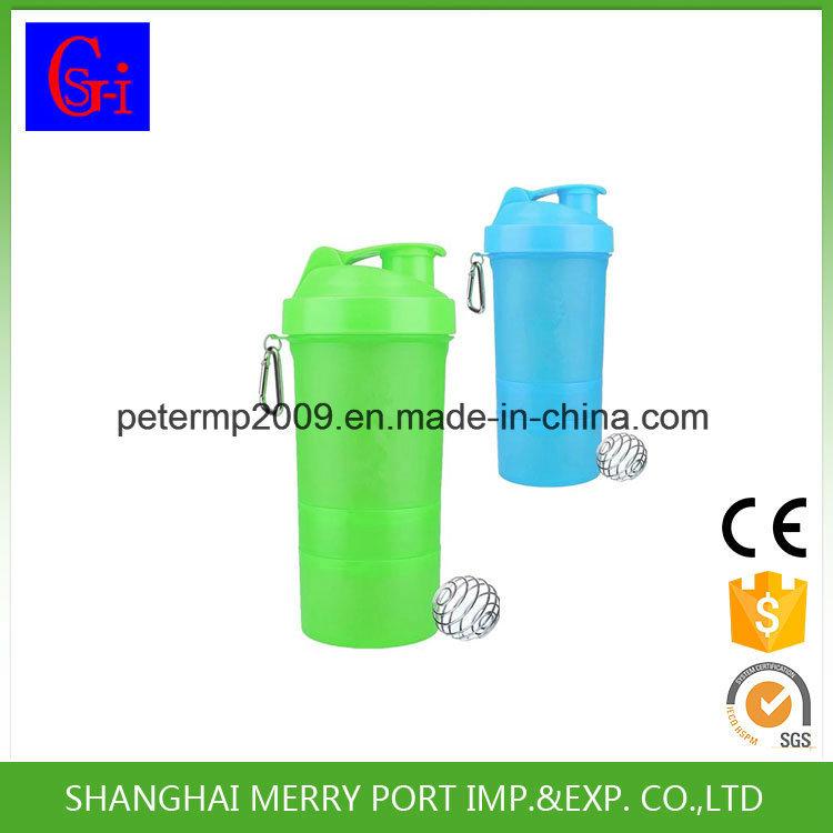 Plastic Salad Cup Shaker Bottles Water Bottle
