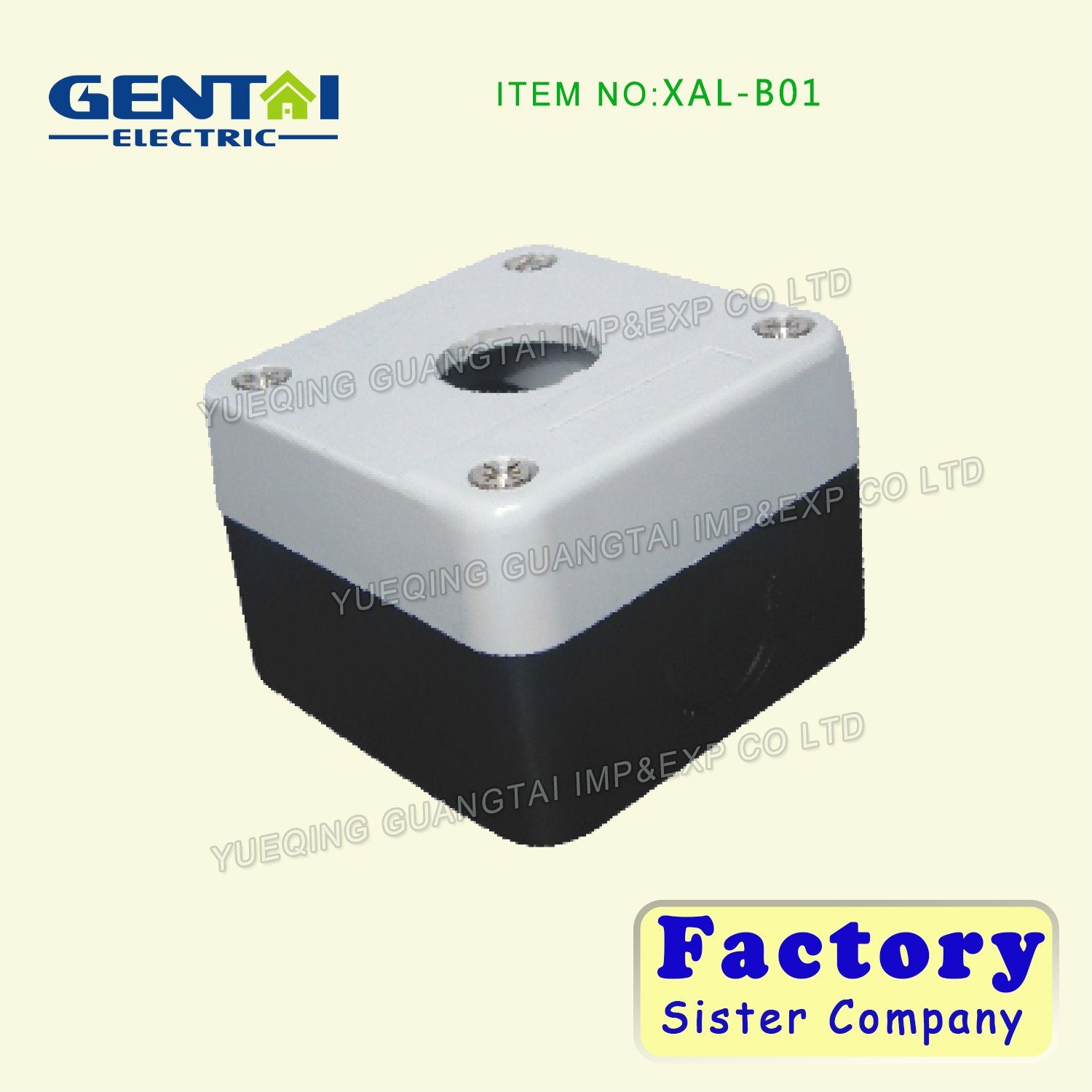 Xal Series Push Button Control Switch Box