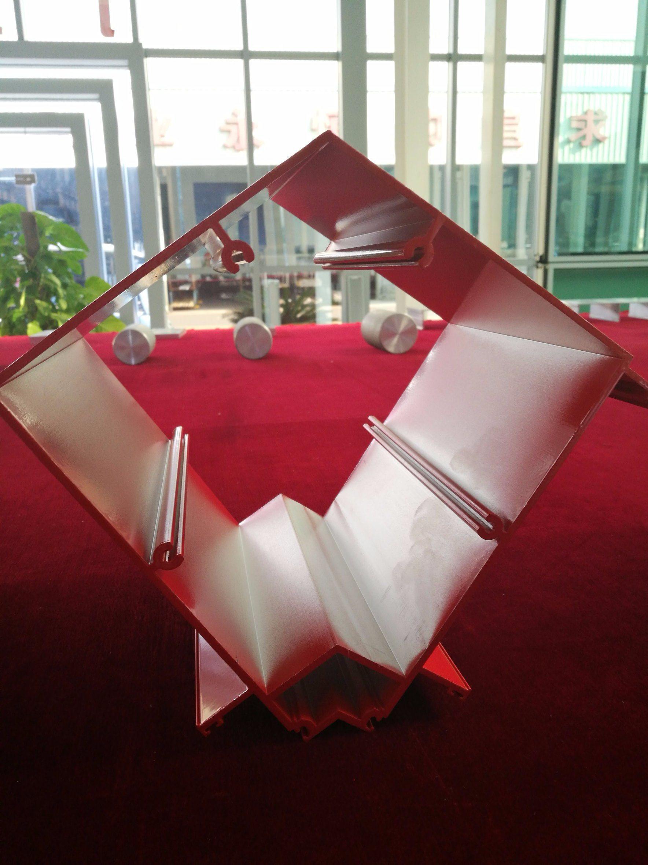 Customized Large Section Aluminum Extrusion Profiles