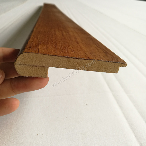 Wood Moulding Stair Nosing / MDF Stair Nose Flooring Accessories
