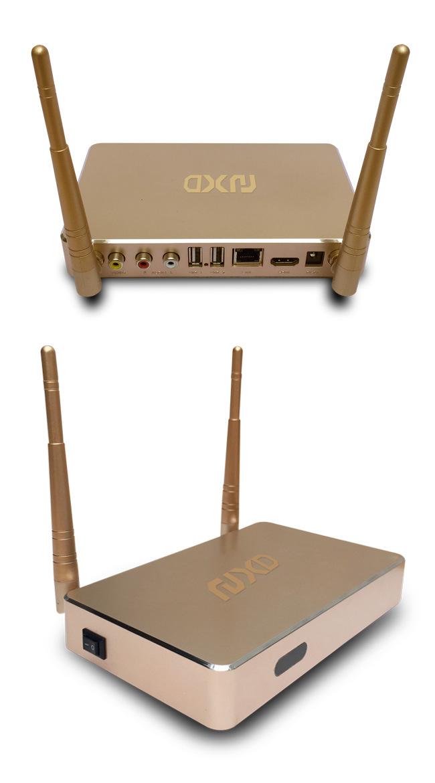 Android Smart TV Box Q1 64-Bit Processor 1GB RAM+ 8GB ROM