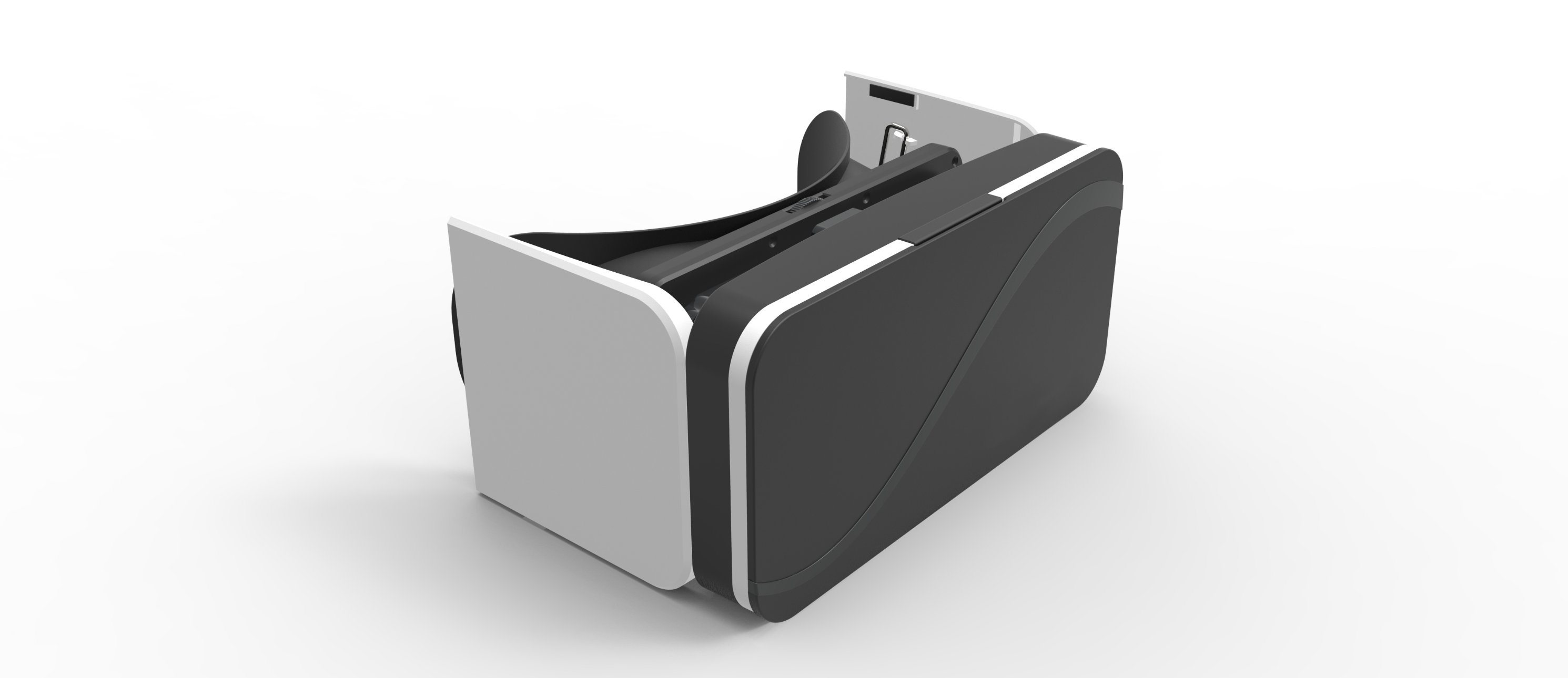 "2017 Vr Mini Vr Glasses A6 Folded 3D Glasses for 3.5"" - 6.0"" Smart Phones Plastic Glasses"