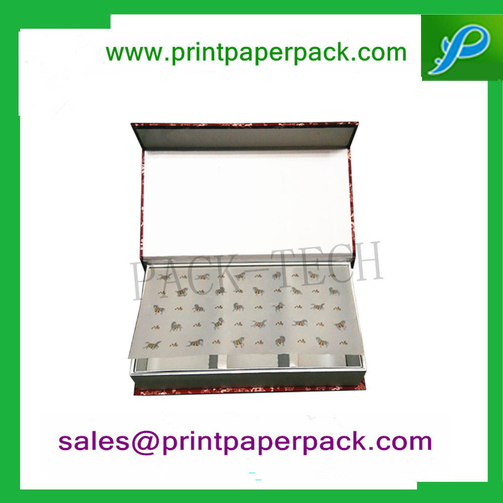 Fancy Handmade Custom Printed Paper Gift Confectionery Box for Chocolate / Cake