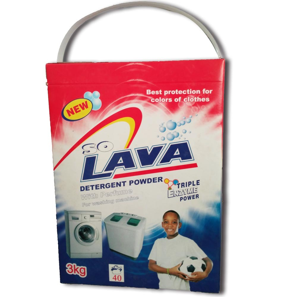 3kg Good Quality Machine Washing Detergent Washing Powder