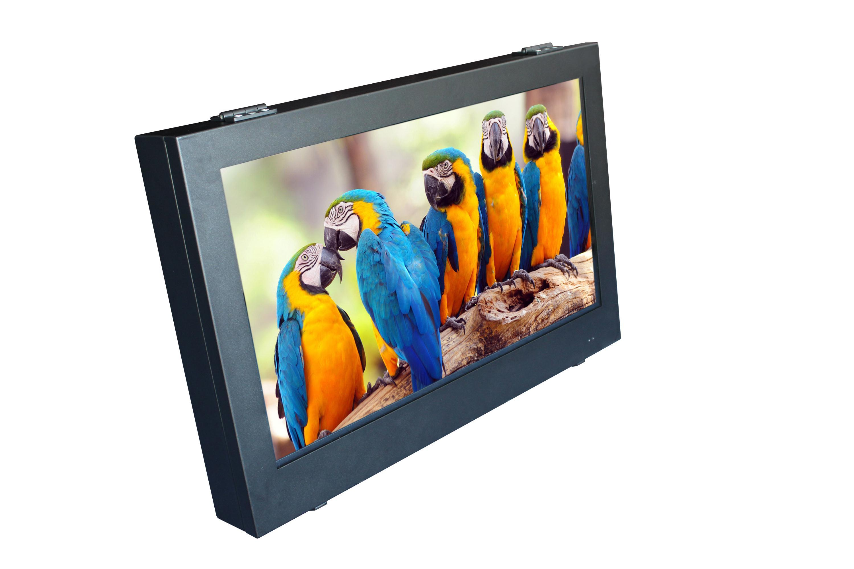 Outdoor Waterproof TV with IP65 Full Metal Enclosure Design