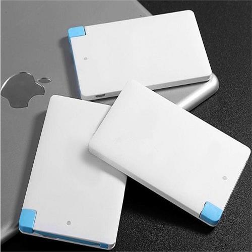 Slim Credit Card 2000mAh Portable Mobile Phone Battery