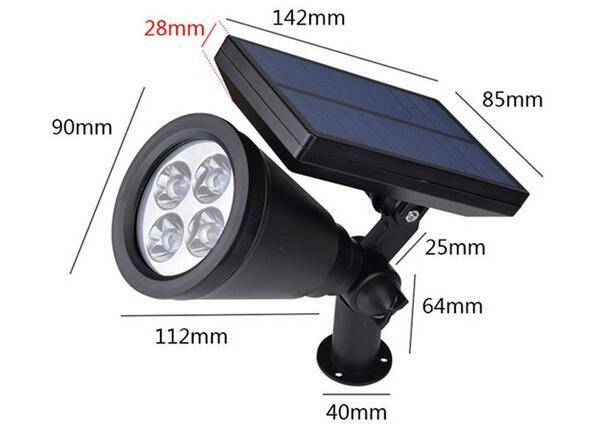 Waterproof LED Solar Garden Lights