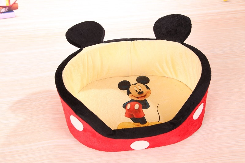 Cute Mickey Style Dog Bed & Pet Bed