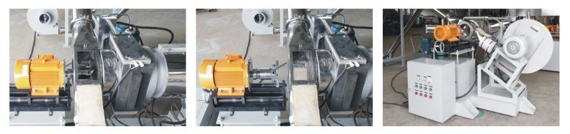 Two-Stage Extruder, Twin Shaft Extruder+ Single Extruder, High Output 100kgs-1000kgs/H