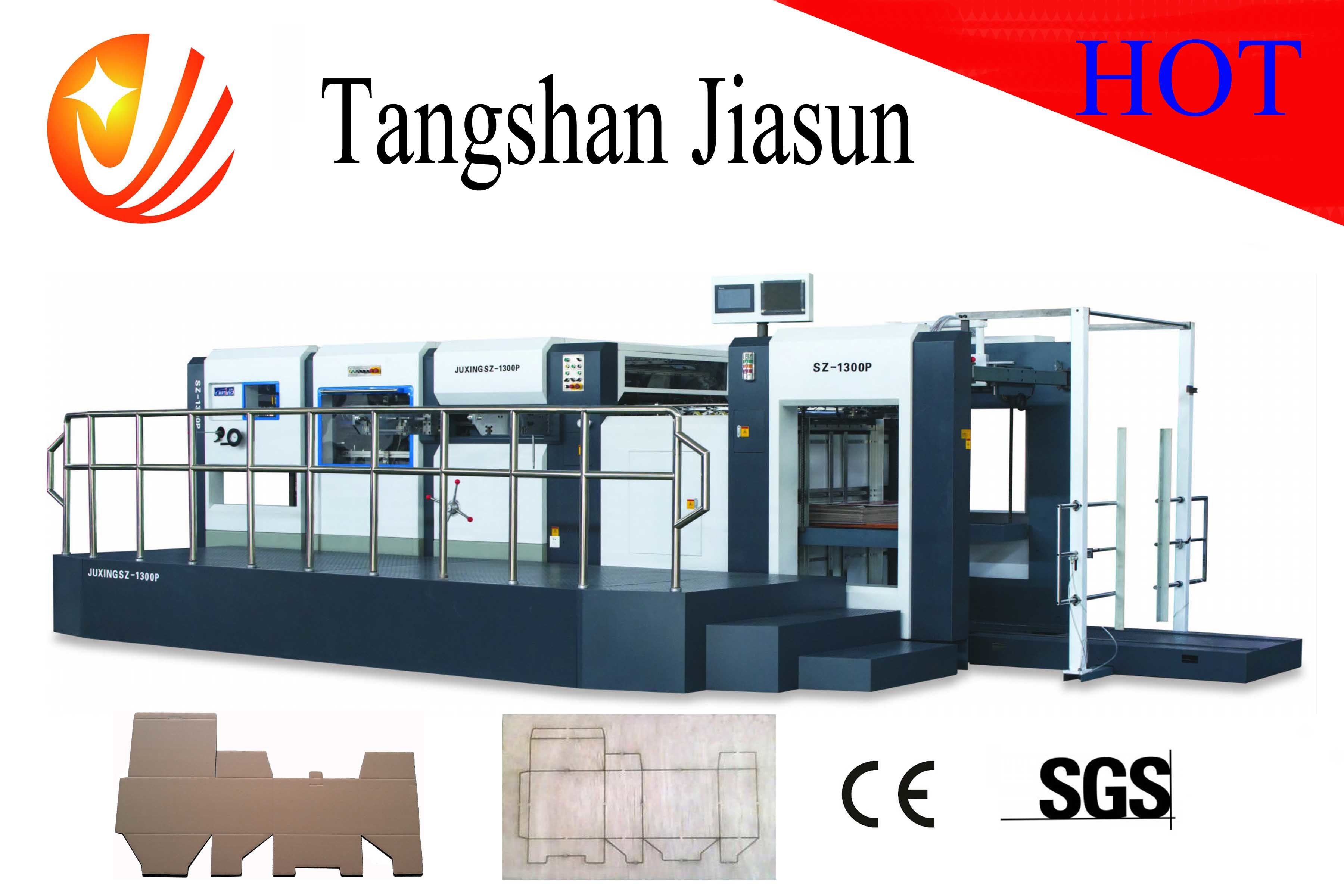 Hot Sell Semi-Automatic Die-Cutting and Creasing Machine