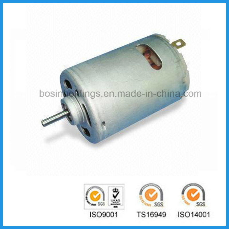 DC Motor for Vacuum Cleaners with 12.0V Nominal Voltage and 5, 000rpm No-Load Speed