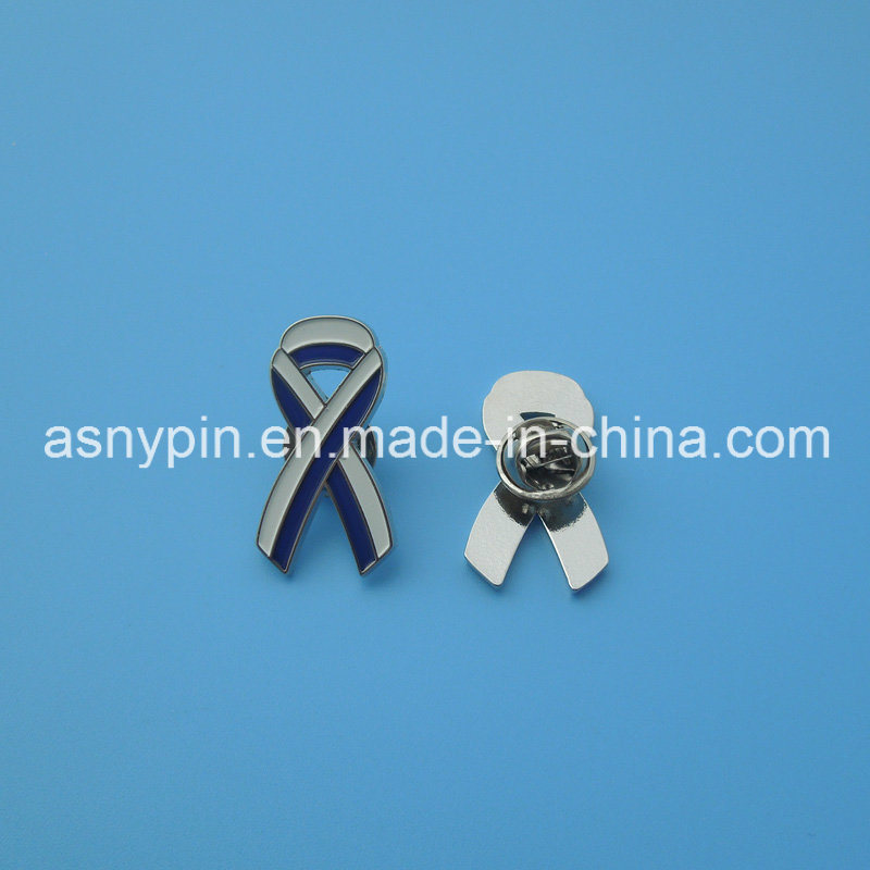 Hotsale Breast Cancer Awareness Ribbon Badge with Israel Flag Design