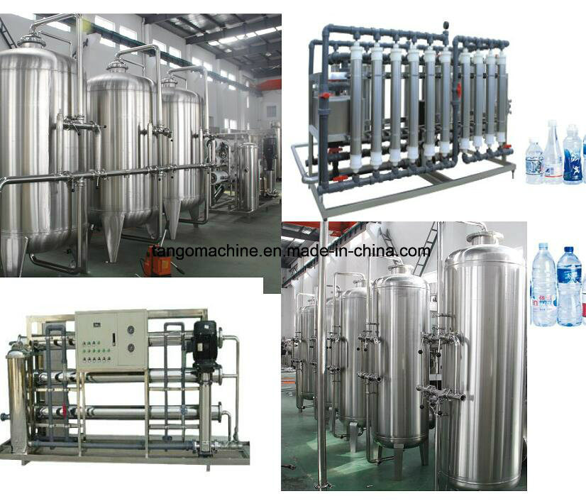 Water Treatment System Equipment for Water Bottling Plant