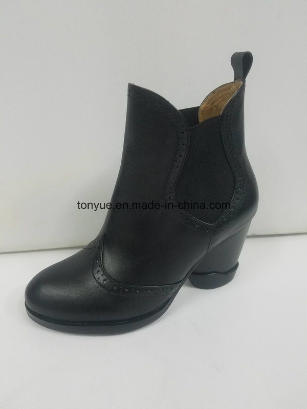 Lady Leather British Wind Restoring Ancient Ways Rubber Ankle Boots Is a Pedal