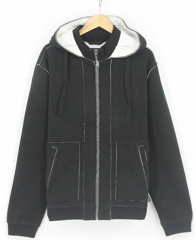 Men Softshel Bondedl Zip Through Sweatshirts Sportswear Jacket