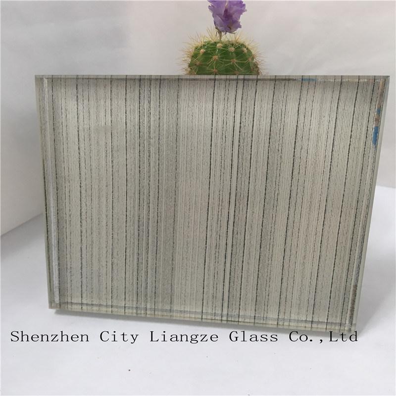 10mm+Silk+5mm Black Mirror Craft Glass/Safety Laminated Glass/Tempered Glass/Art Glass