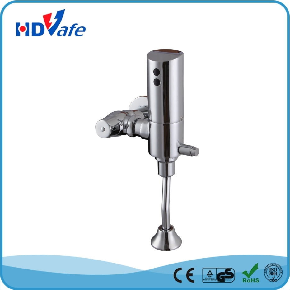 Solid Brass Exposed Automatic Infrared Urinal Flusher HD616