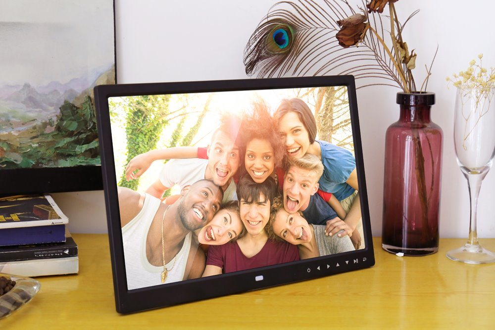15 Inch Allwinner 1280*800 Multilanguage Digital Photo Frame