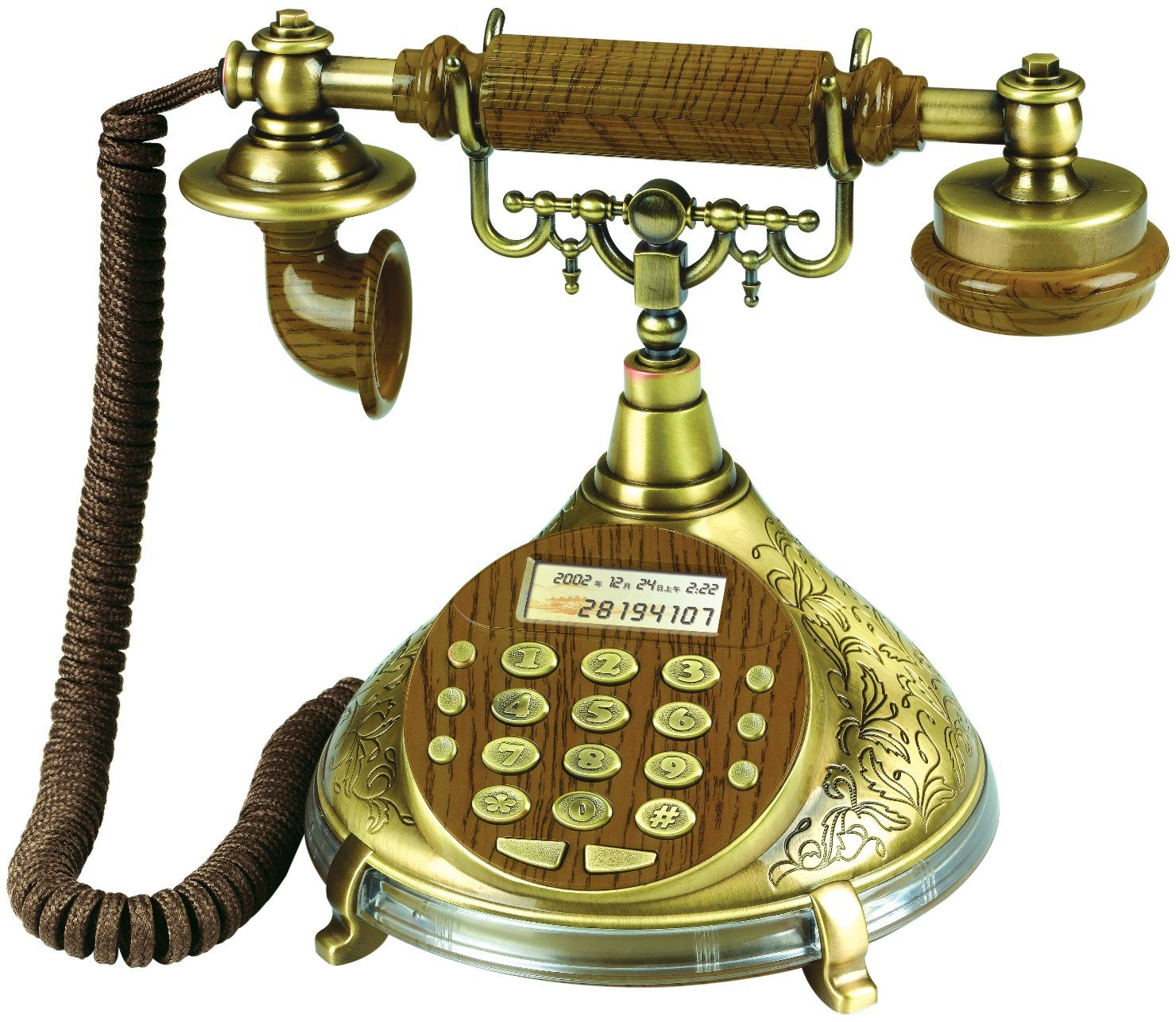 Anique Caller ID Telephone, Speaker Phone, Old Style Phone, Special Telephone, Caller ID Phone, Antique Phone
