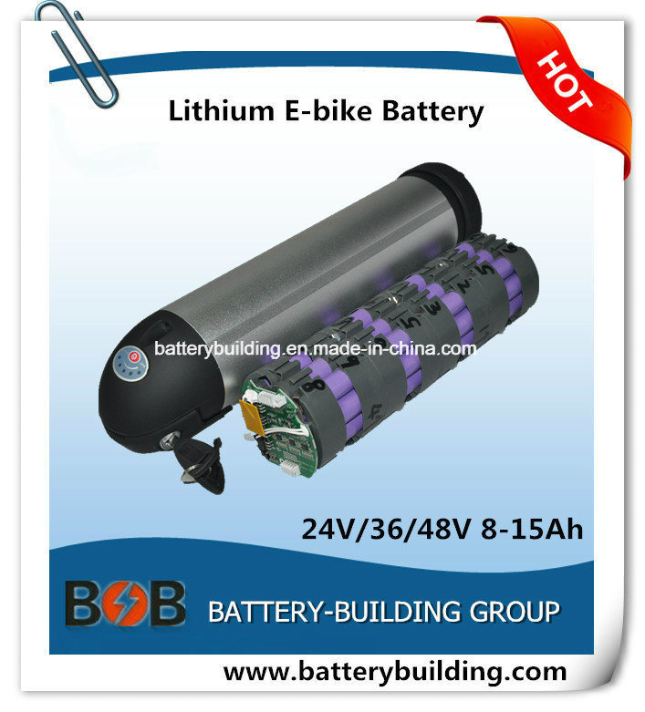 48V 10ah Bottle Type Lithium Battery E-Bike Battery Lithium Bottle Rechargeable Battery