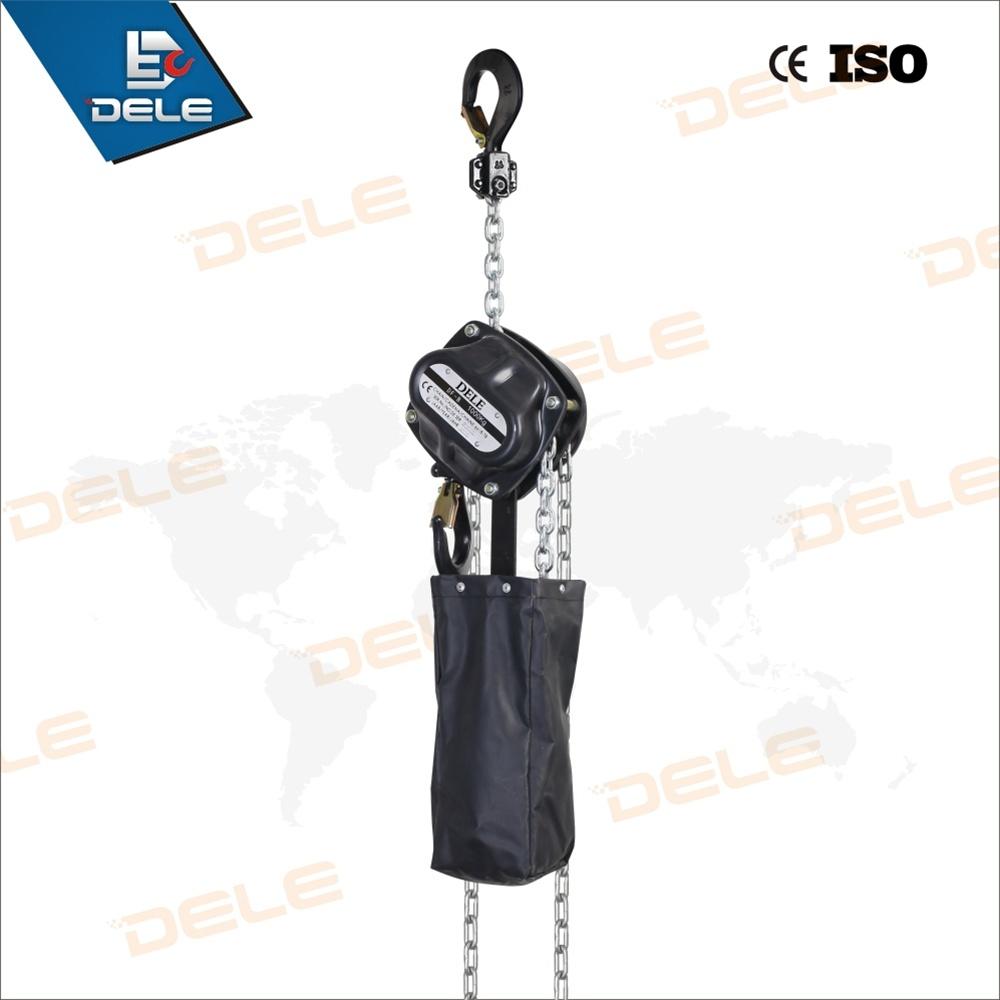 De 1 Ton Type of Chain Block Construction Device