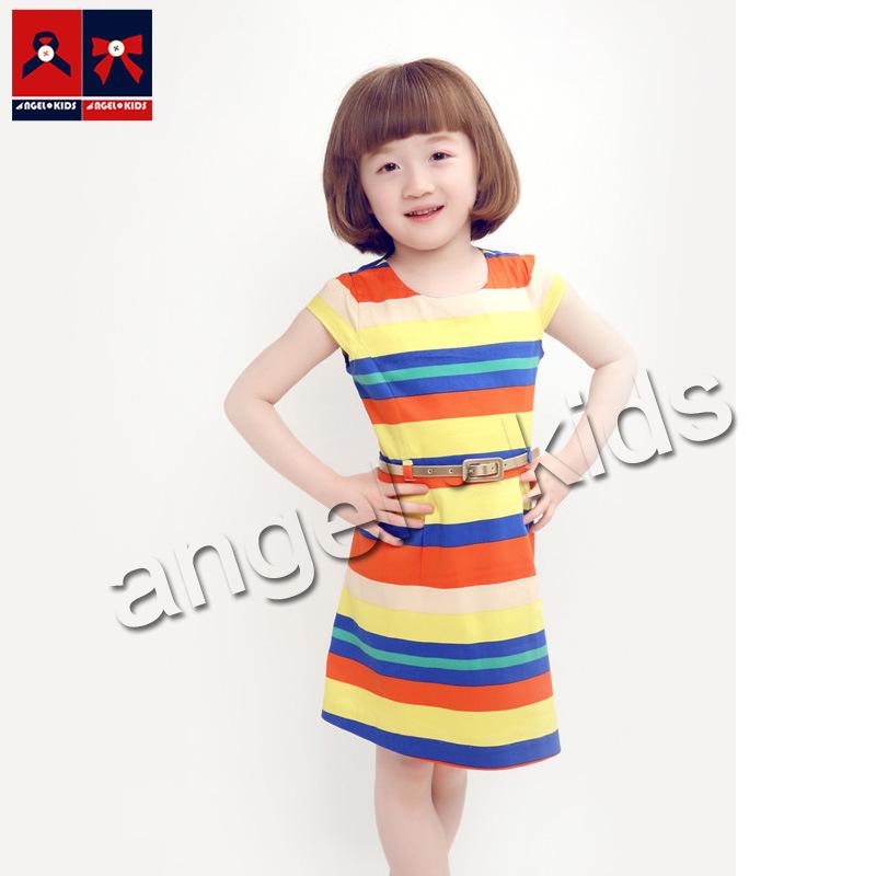 Girls Long Sleeve Lovely Dress