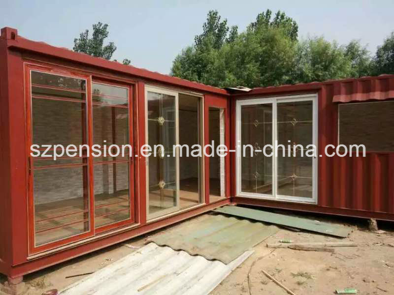 Customized Modified Container Prefabricated/Prefab Sunshine Room/House